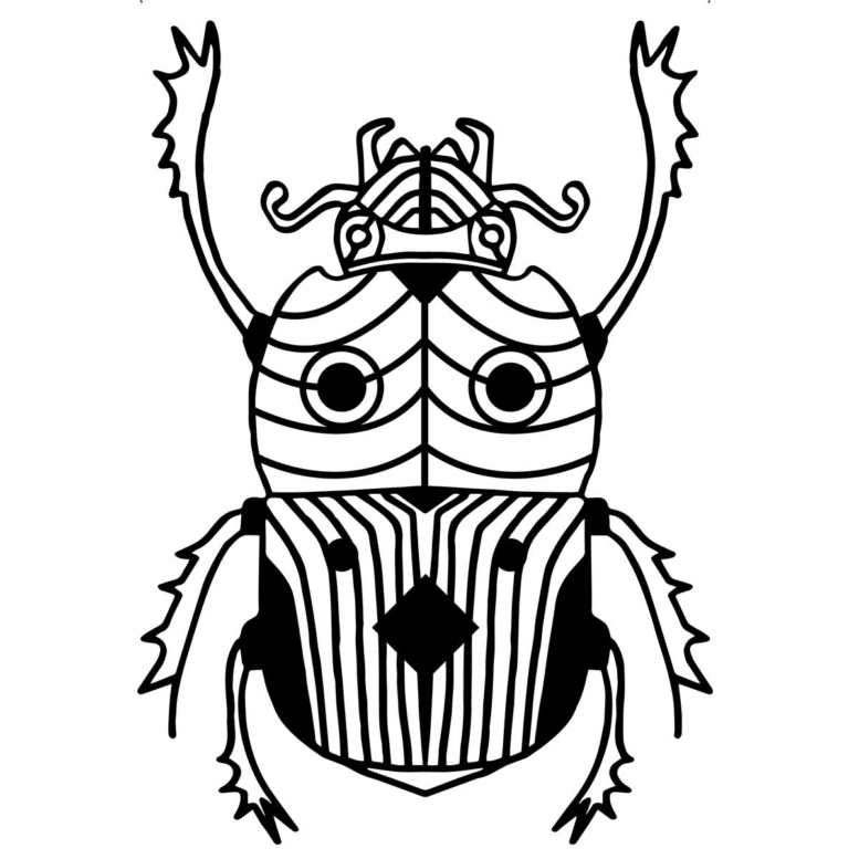 deco murale insecte