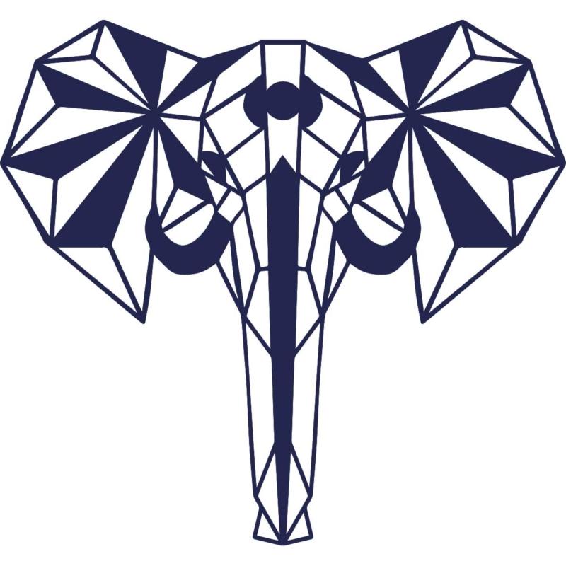elephant mur
