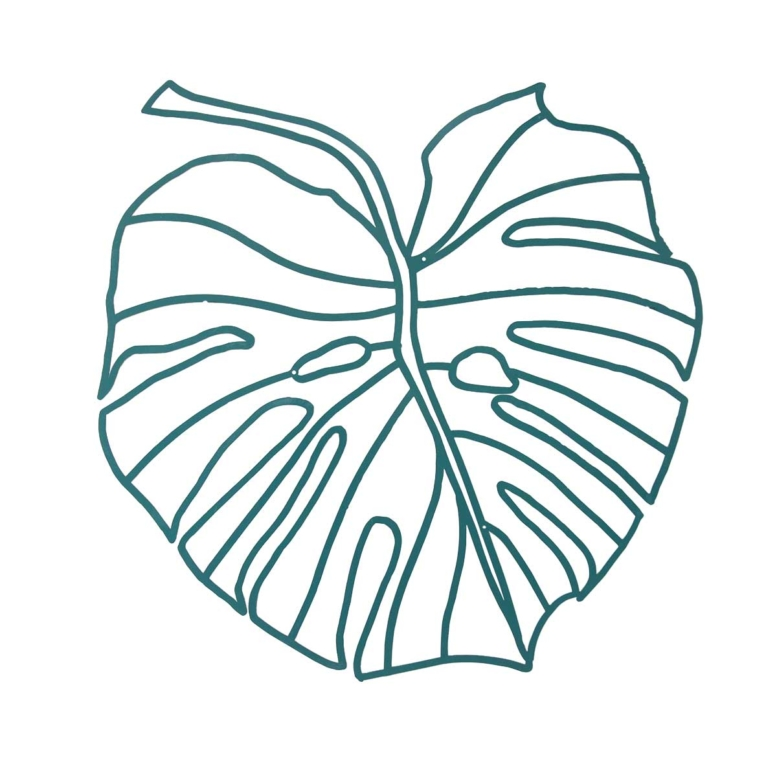 deco murale plante