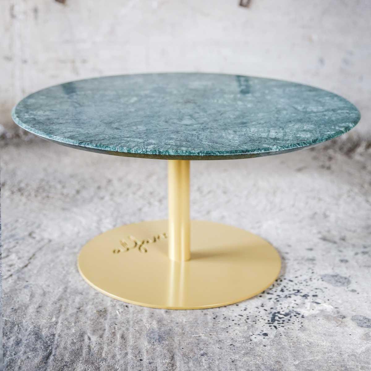 table basse doré