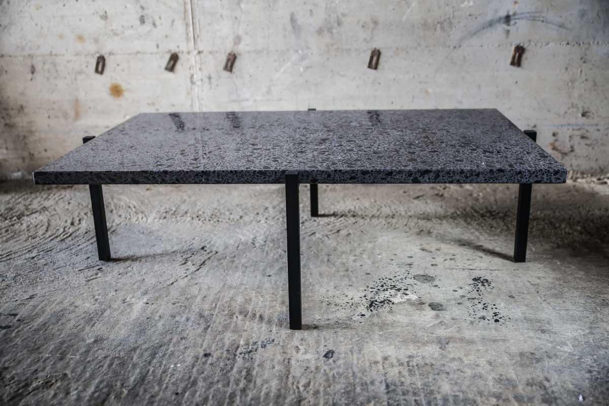 Plateau De Table En Pierre Naturelle ornéla – table basse en pierre naturelle personnalisable & pieds métal