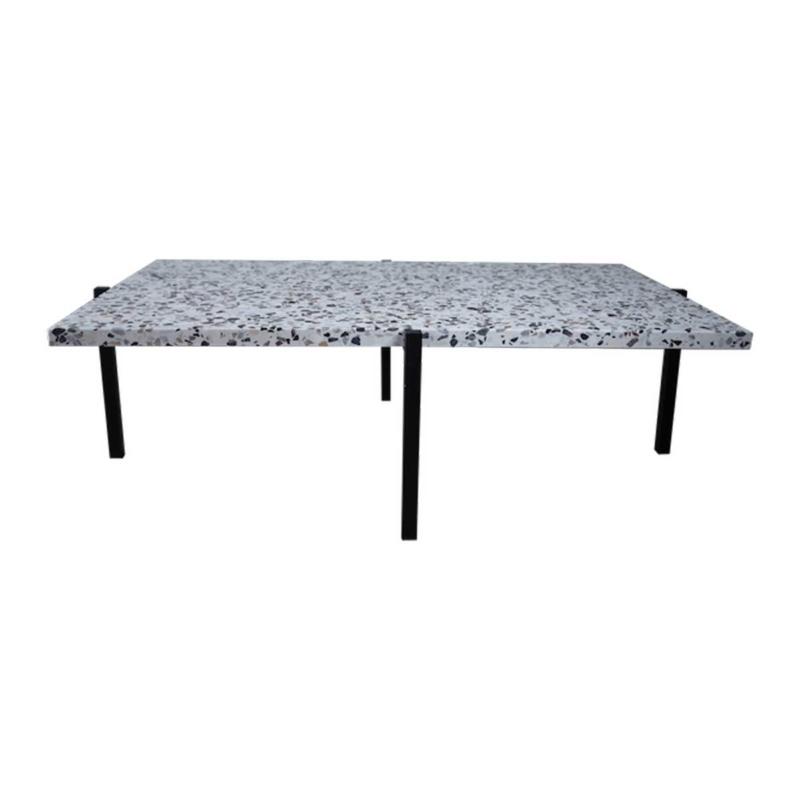 table basse terrazzo